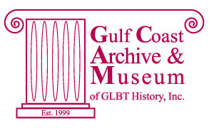 Logo of Gulf Coast Archive and Museum      of Gay, Lesbian, Bisexual and Transgender History, Inc.